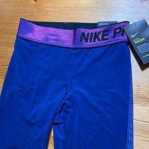 Nike Pro Warm Womens Running Tights XS